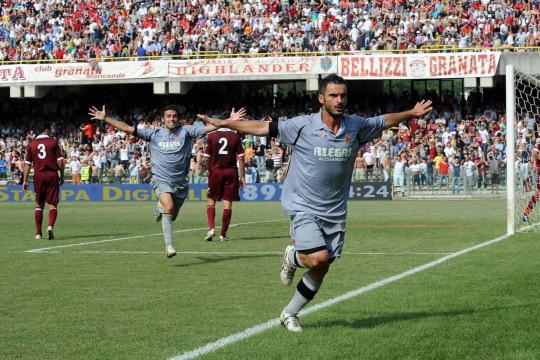 Salernitana-Alessandria, gol di Martini
