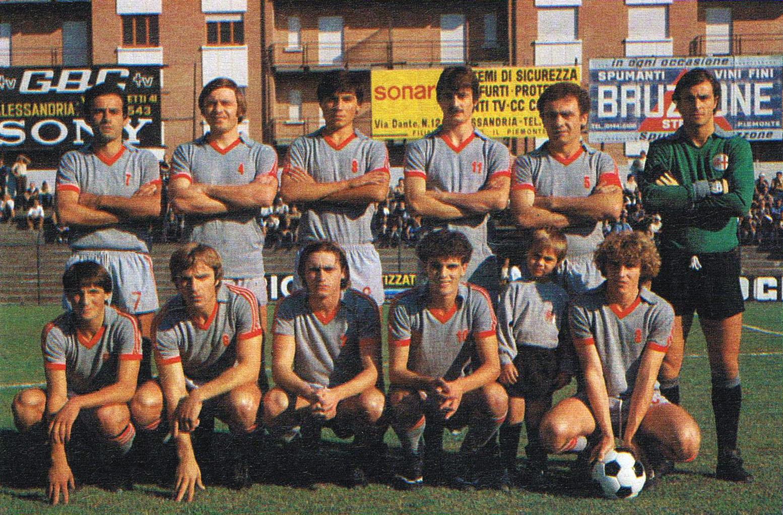 Alessandria Calcio, formazione camp. 1978-1979