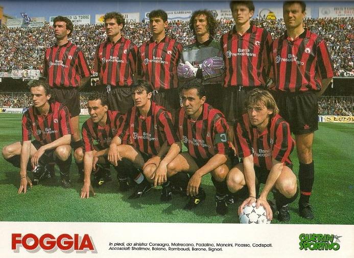Foggia 1991-92