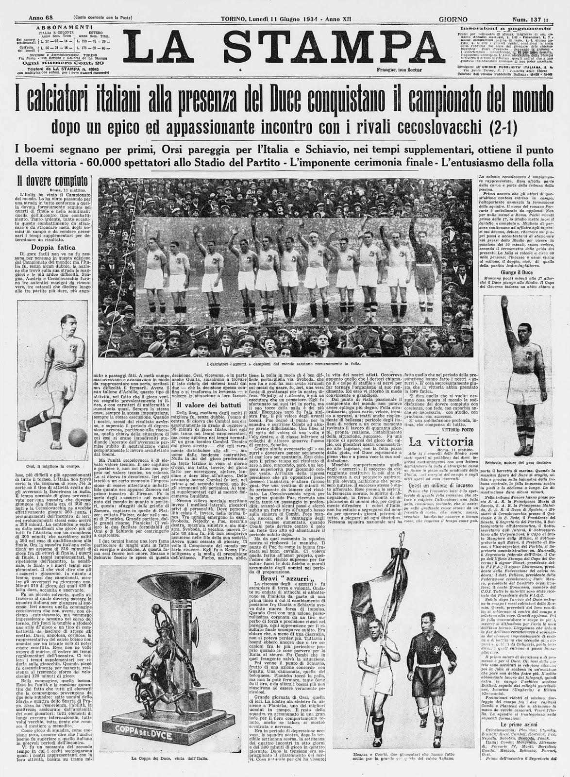 20 - La Stampa 11-06-1934