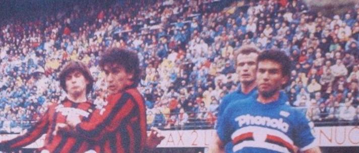 1987, Milan 0 - Sampdoria 2, occasione di Galderisi