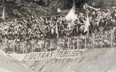 La prima a Como, quando nacquero gli Ultras